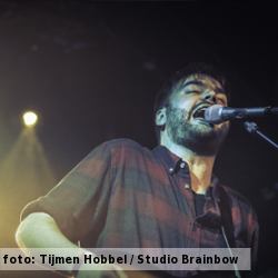 De platenkast van Harmen Ridderbos (Town of Saints), interview over en met muziek. Foto Harmen RIdderbos geschoten door Tijmen Hobbel (Studio Brainbow)