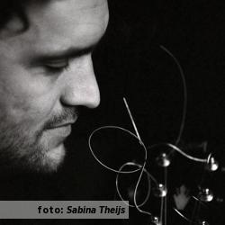 Etalageblokje voor De platenkast van Joep Pelt, interview over en met muziek. Foto geschoten door Sabine Theijs.