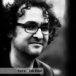 Lex van der Post, drummer, interview voor De platenkast van. Etalageblokje, fotografie door Tim Knol.