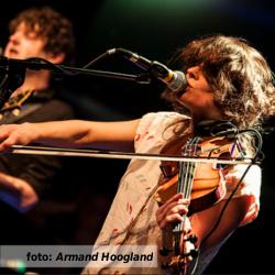 Etalageblokje voor het interview met Susanne Linssen (Band of Beginners) voor De platenkast van... Fotografie: Armand Hoogland.